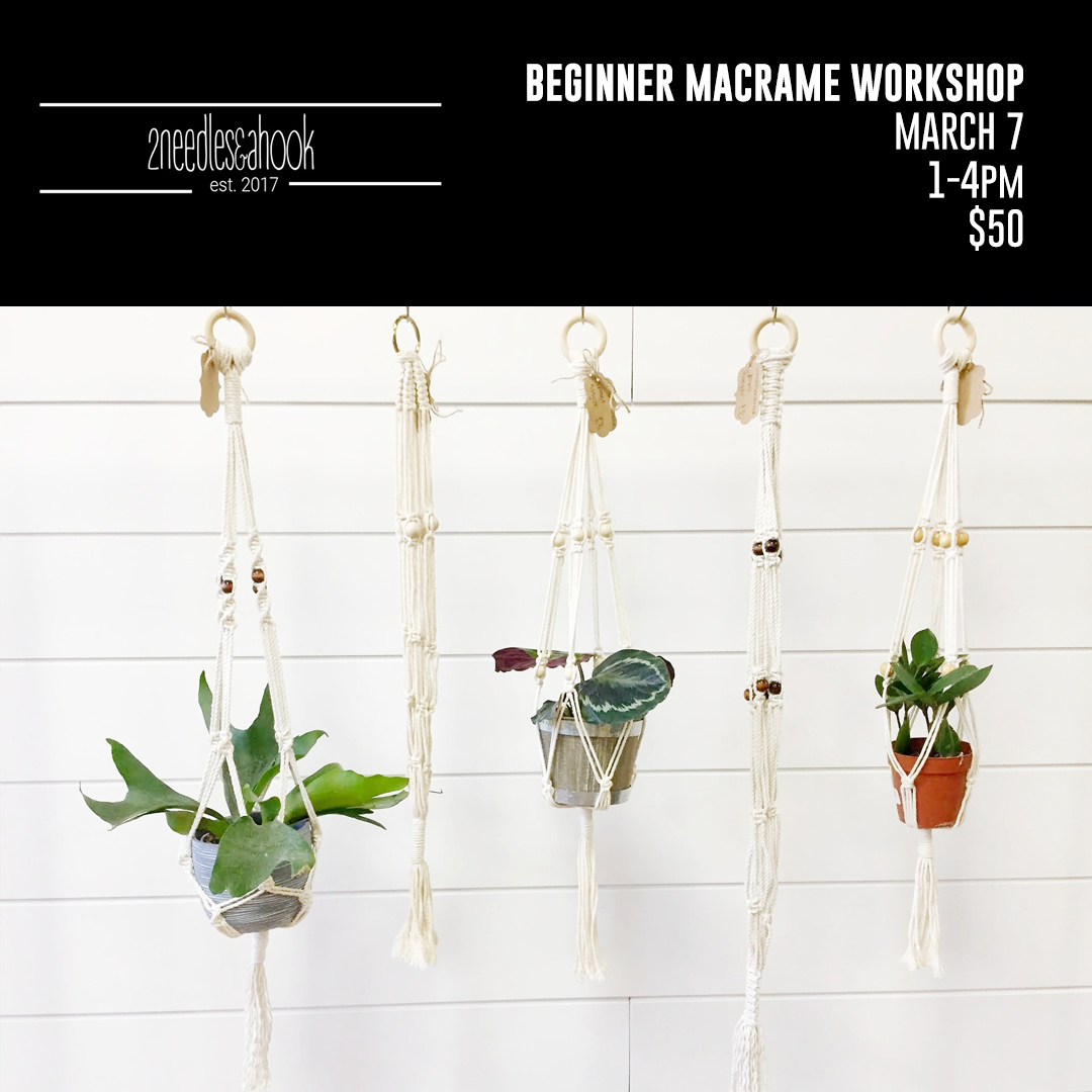 Beginners macrame workshop